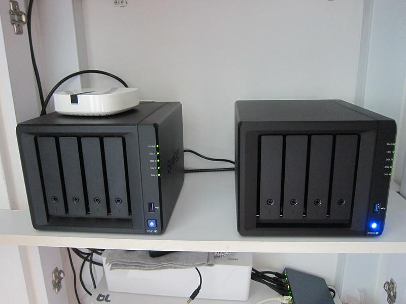Synology DiskStation DS918+ vs DS920+