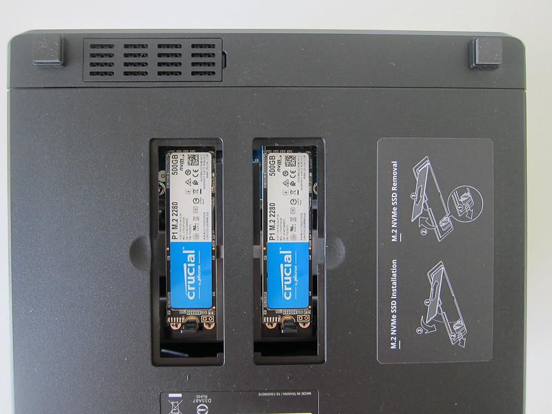 Synology DiskStation DS920+ - M.2 NVMe SSD Installed