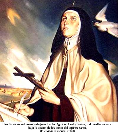 Santa Teresa de Jesús - José María Salaverría (+1940)