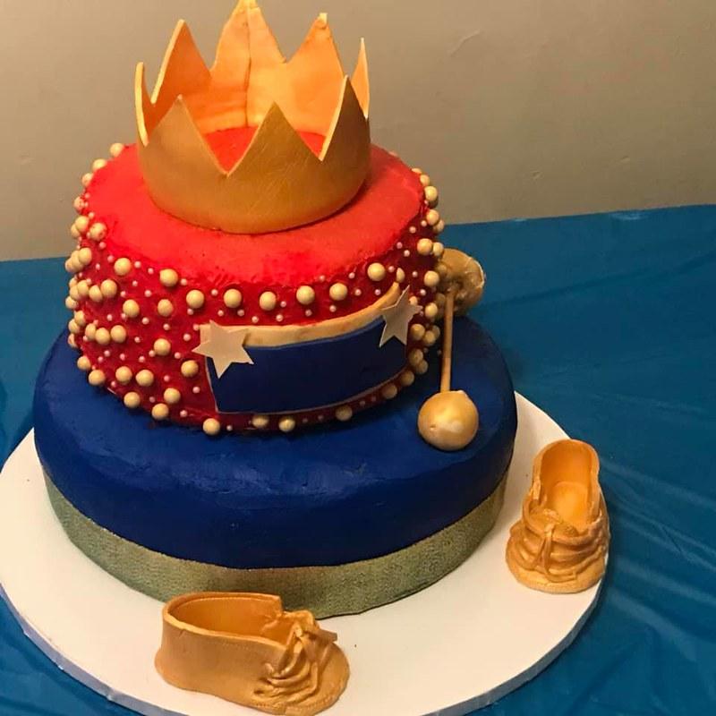 Cake by B'dazzled Custom Cakes and Sweet Treats