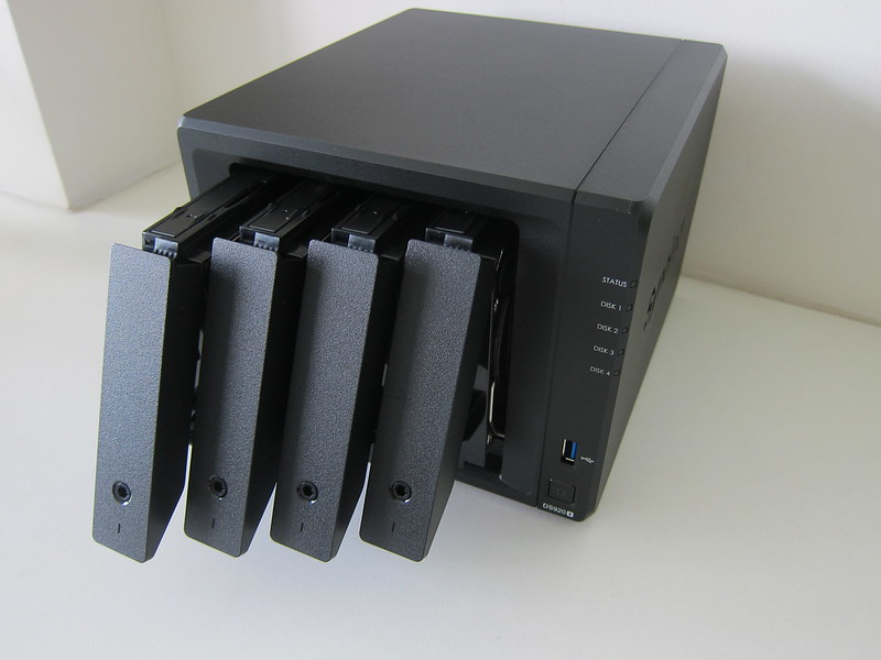 Synology DiskStation DS920+ - Hard Drives Installed