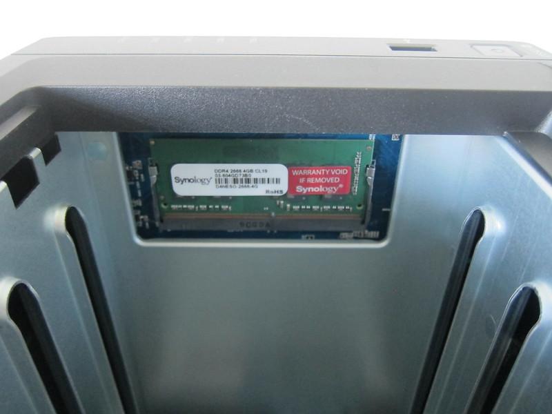 Synology DiskStation DS920+ - RAM Installed