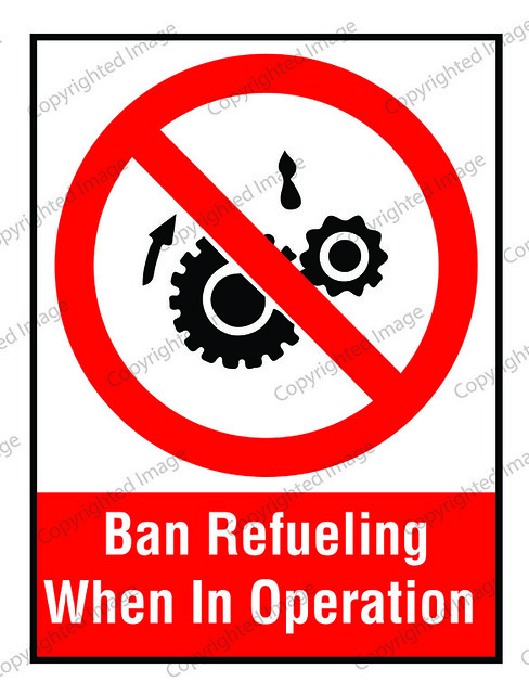 ban refueling when in operation