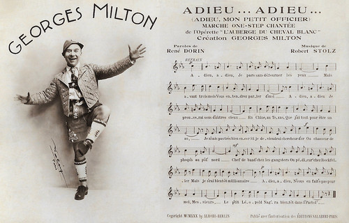 Georges Milton in L'auberge du cheval blanc