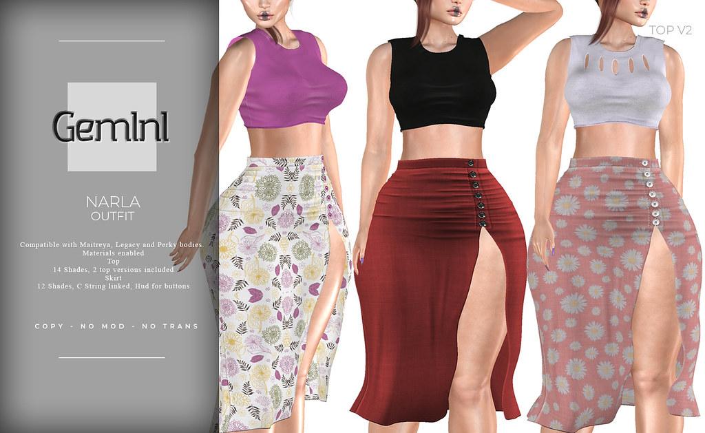 •Gemini -Narla Outfit- @ Sense Event•