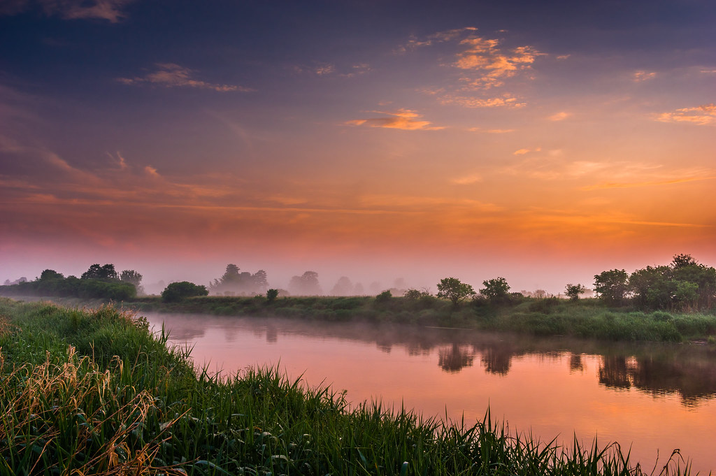 On The Narew River Bank