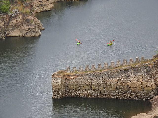 Kakaks en el río Lozoya a la altura de Buitrago