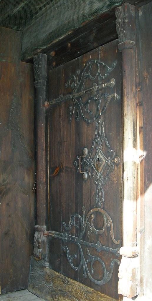Garmo stavkirke – Dør