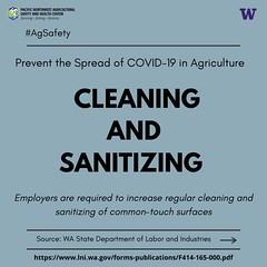 Covid-19 Cleaning & Sanitizing Requirements - English