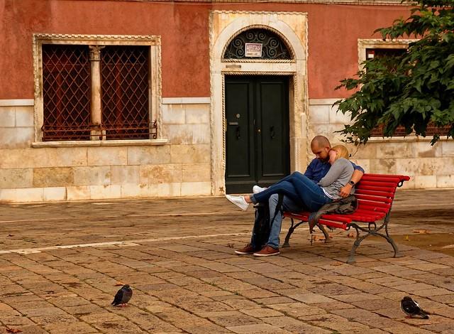 The Venice lovers / Campo San Polo /