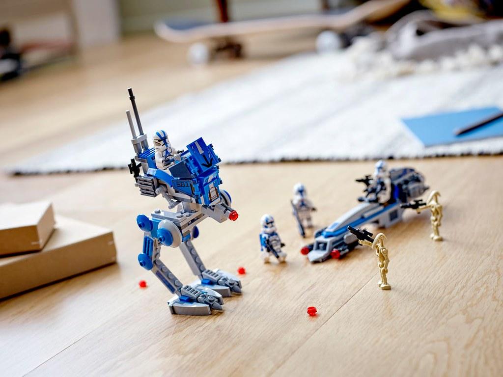 LEGO 75280《星球大戰》501軍團 501st Legion Clone Troopers