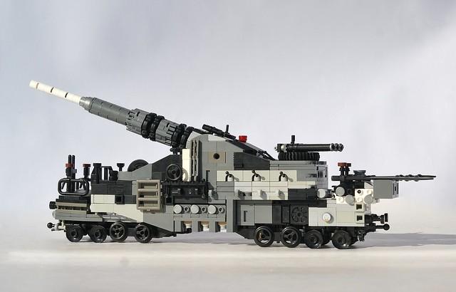 Deep State Espionage: [Railway Gun]
