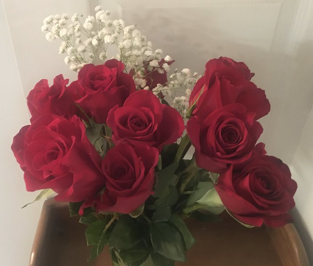 Happy birthday roses for me !