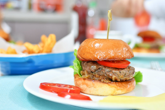 Beef Burger   Singapore