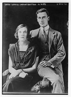 Lord Louis Mountbatten & wife (LOC)