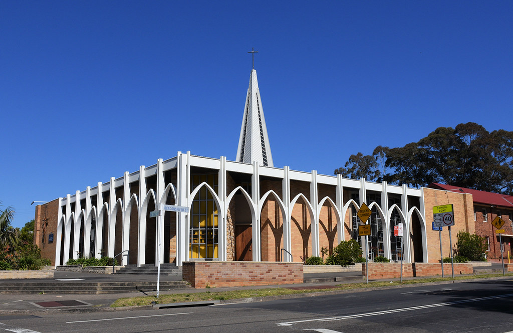 St Lukes Catholic Church, Revesby, Sydney, NSW.