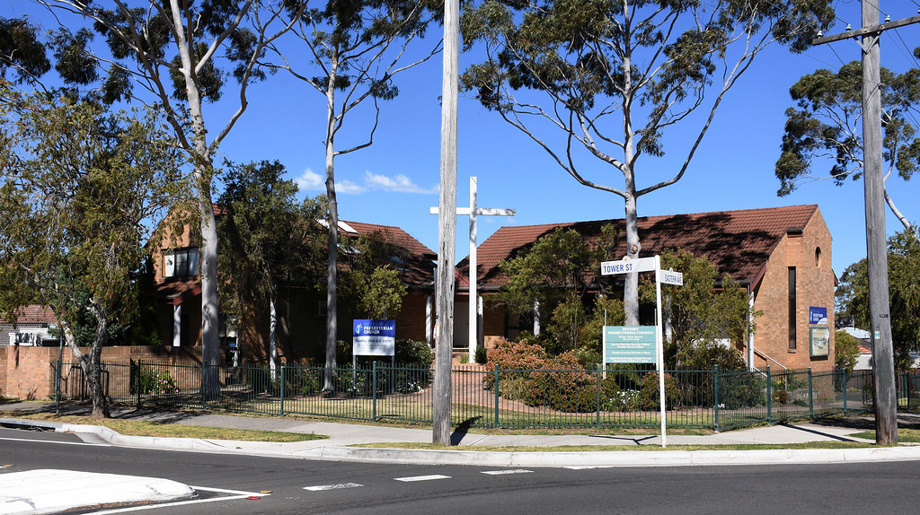 Presbyterian Church, Revesby, Sydney, NSW.