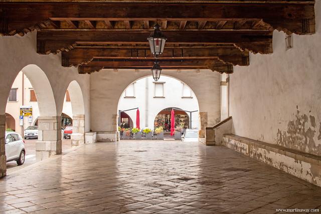 Loggia della Biblioteca Guarneriana, San Daniele del Friuli
