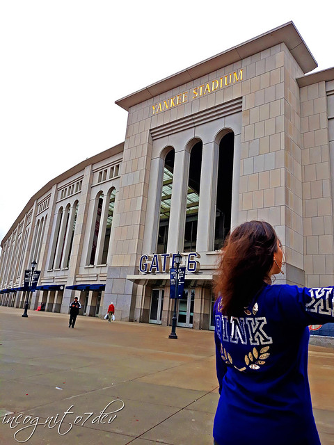 At The Yankee Stadium Gate 6 Concourse The Bronx New York City NY P00563 20191030_145218