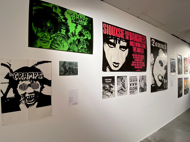 Adam Museum PUNK DESIGN: Too Fast to Live, Too Young to Die exhibit