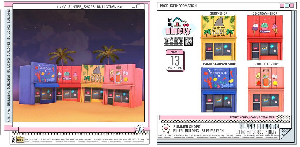 #ninety – Summer Shops @SummerFest