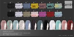 •Gemini - Narla Outfit - Top & Skirt•