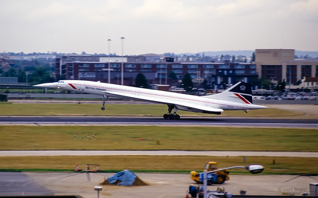 British Airways BAC/SUD Concorde 102 G-BOAB