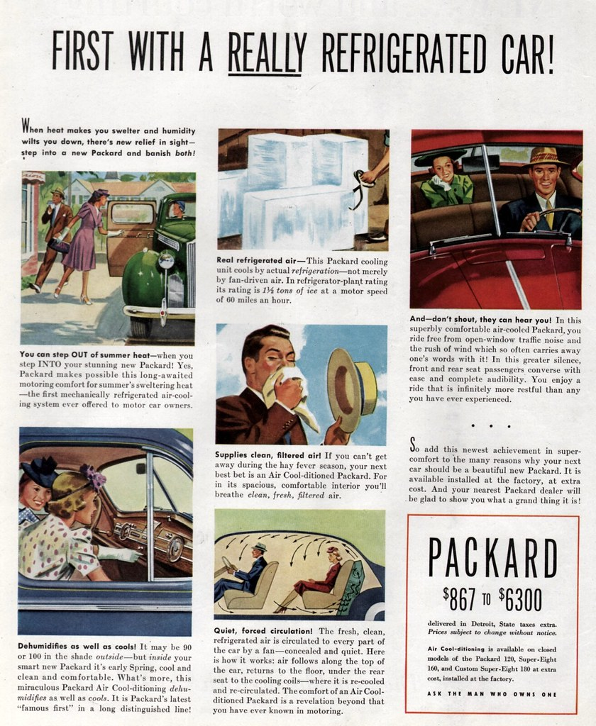 Packard Air Conditioning 1940