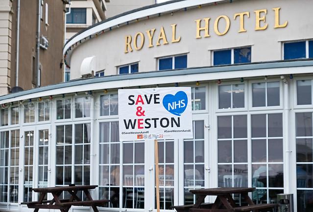 Save Weston A&E