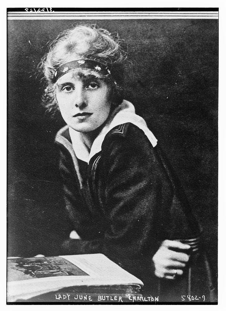 Lady June Butler Charlton (LOC)