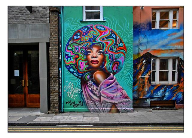 LONDON STREET ART by JIM VISION
