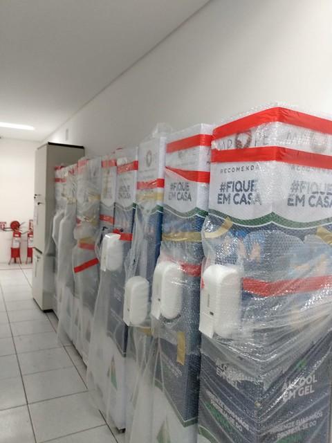 MPPE começa a distribuir as 15 máquinas higienizadoras nas localidades escolhidas pela sociedade civil
