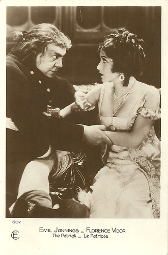 Emil Jannings and Florence Vidor in The Patriot (1928)