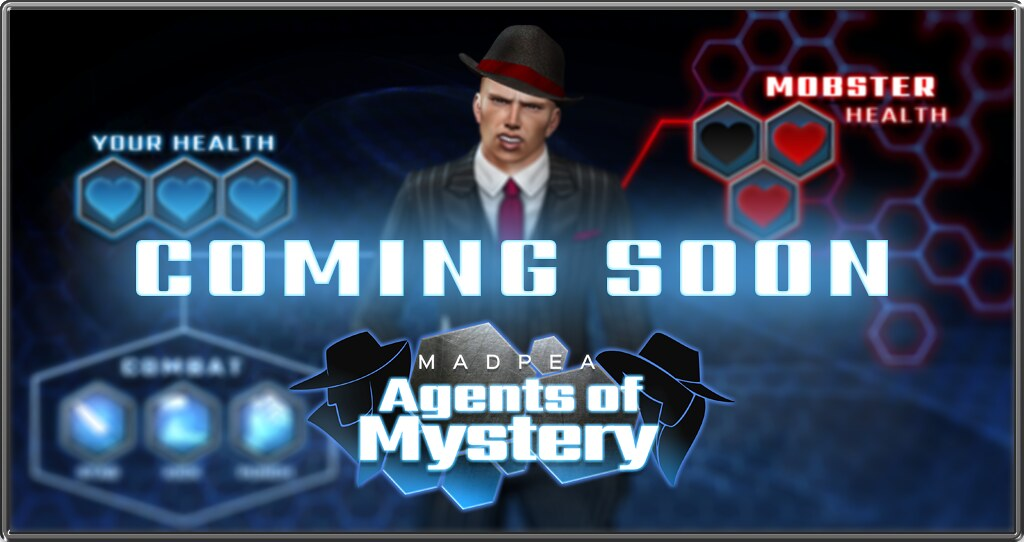 MadPea Agents of Mystery: Teaser!