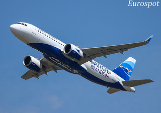 OY-RCL Airbus A320 Neo Atlantic Airways