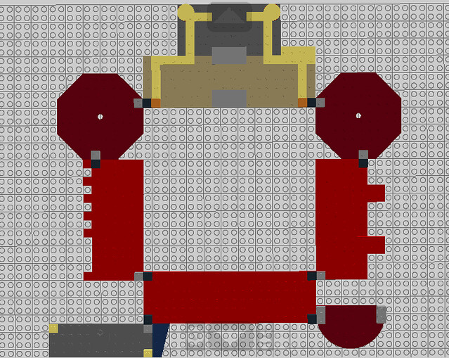Lego Hogwarts: The Quad Floorplan Concept