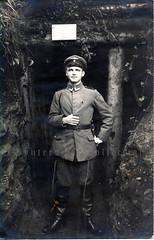 Vizewachtmeister, Vogesen 1917.