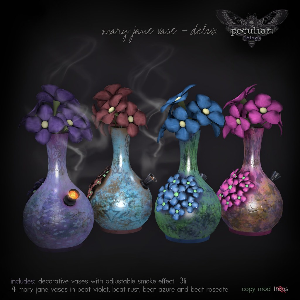 PROMO mary jane vase delux