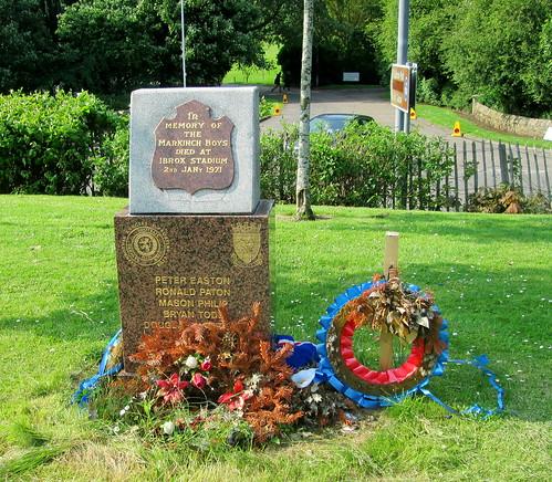 Markinch Ibrox Disaster Memorial
