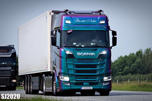 Scania S520 V8 Highline (Martin Pakos, SK)