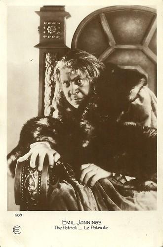 Emil Jannings in The Patriot (1928)