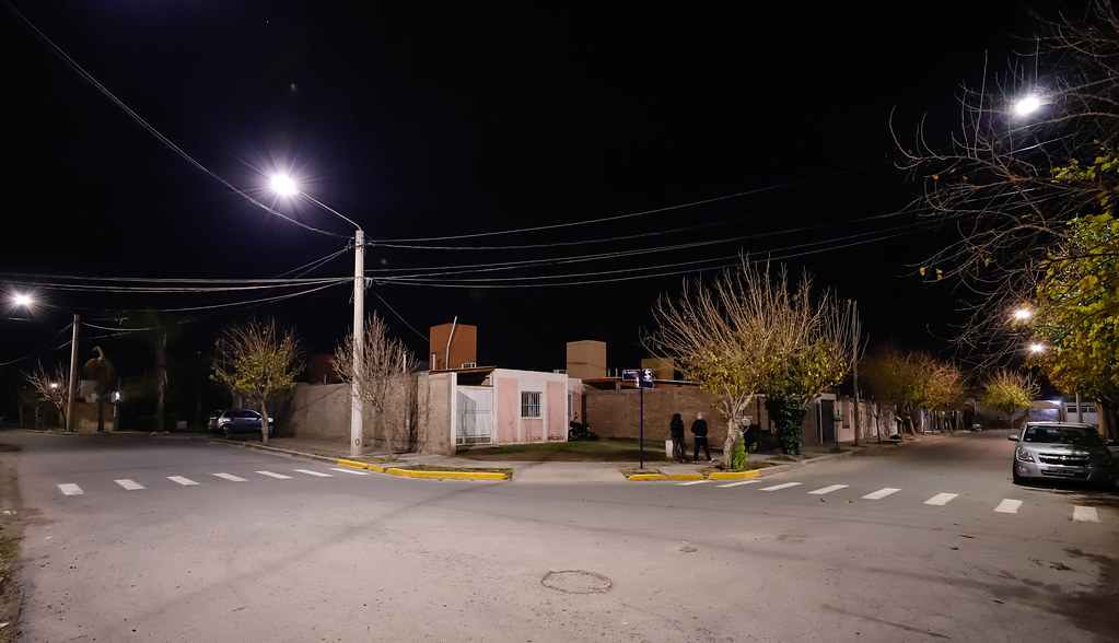 2020-06-19 Luminaria Barrio Bandera Argentina