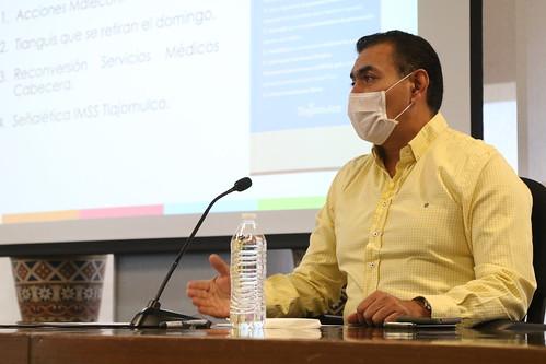 Reunión de Comité de Emergencia Sanitaria Covid-19 19 de junio 2020