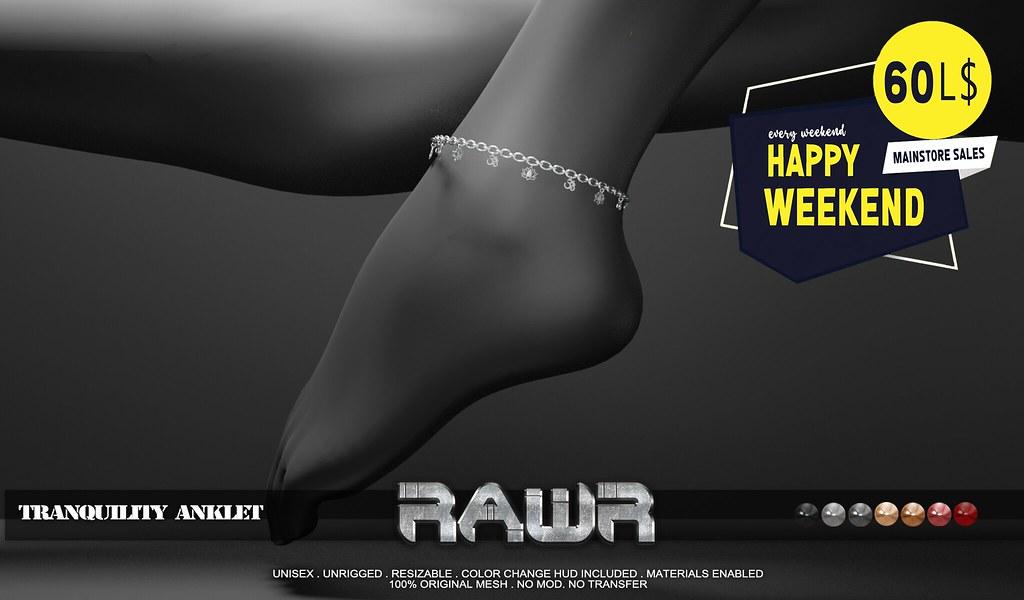 RAWR! Tranquility Anklet HW