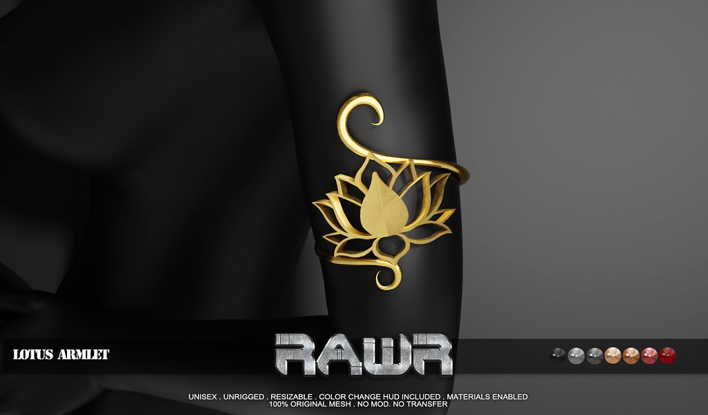 RAWR! Lotus Armlet PIC