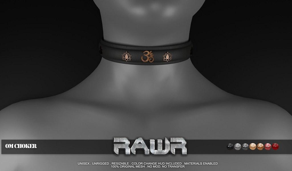 RAWR! Om Choker