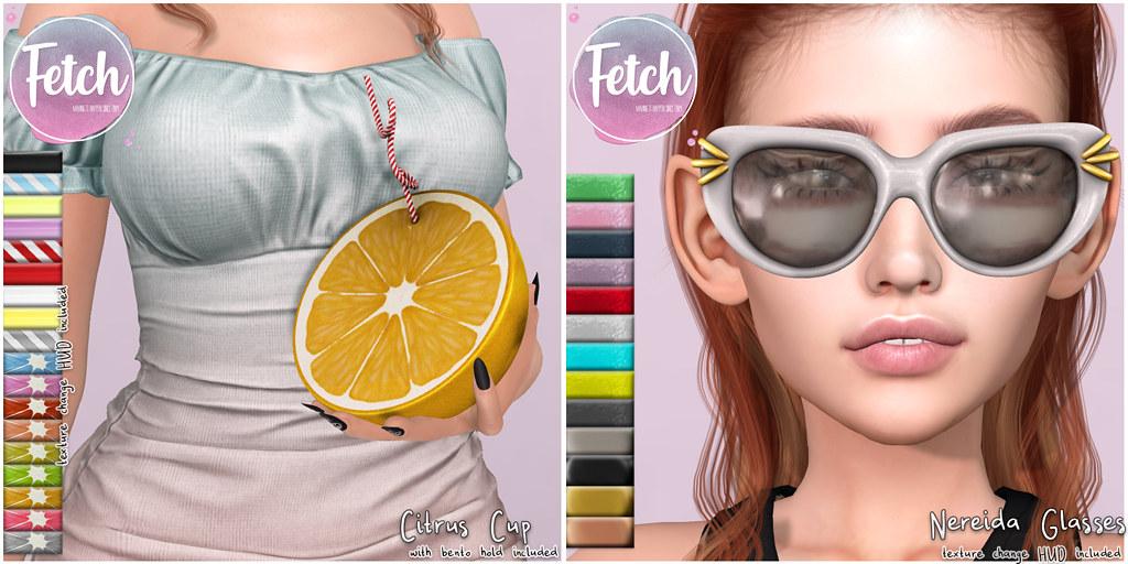 [Fetch] Citrus Cup & Nereida Glasses @ Summerfest!