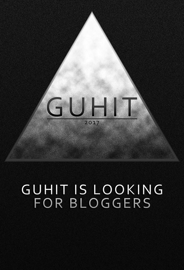 GUHIT is Looking for BLOGGERS