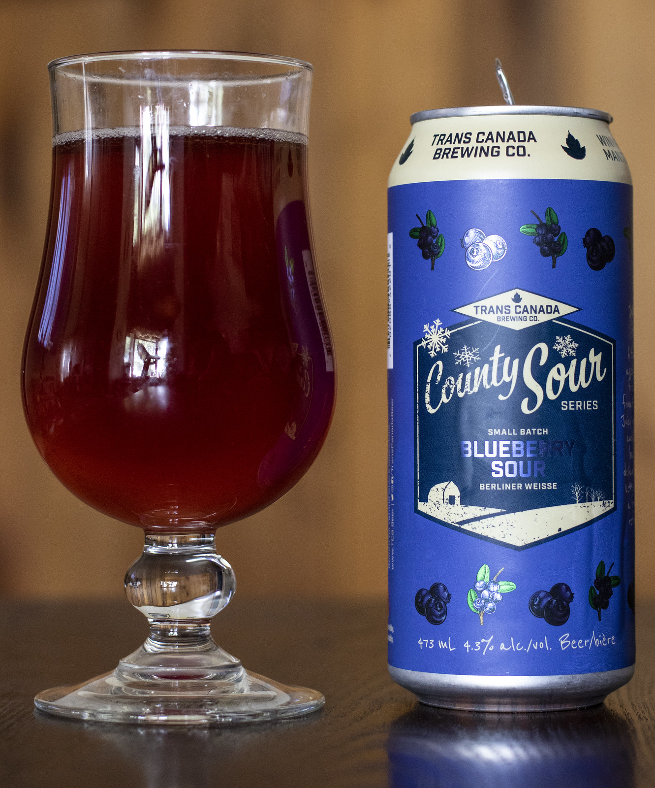 Trans Canada Blueberry Sour Berliner Weisse