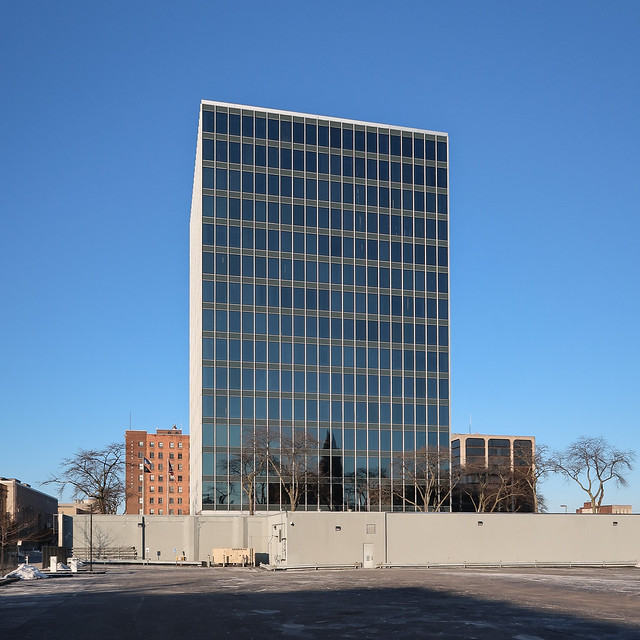 Here was/were Skidmore, Owings & Merrill, giving Toledo the International Style in 1959.